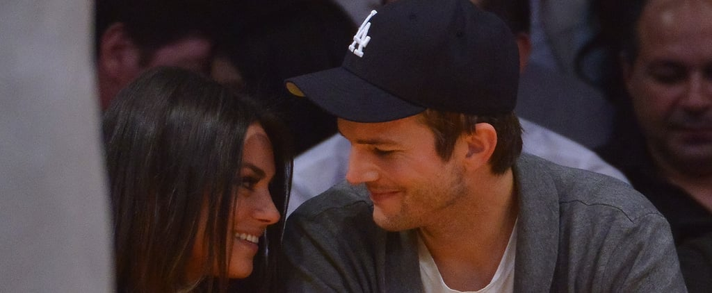 Mila and Ashton's Engagement, From Her First Kiss Ever to That Rock
