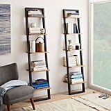 Narrow Ladder Bookshelf