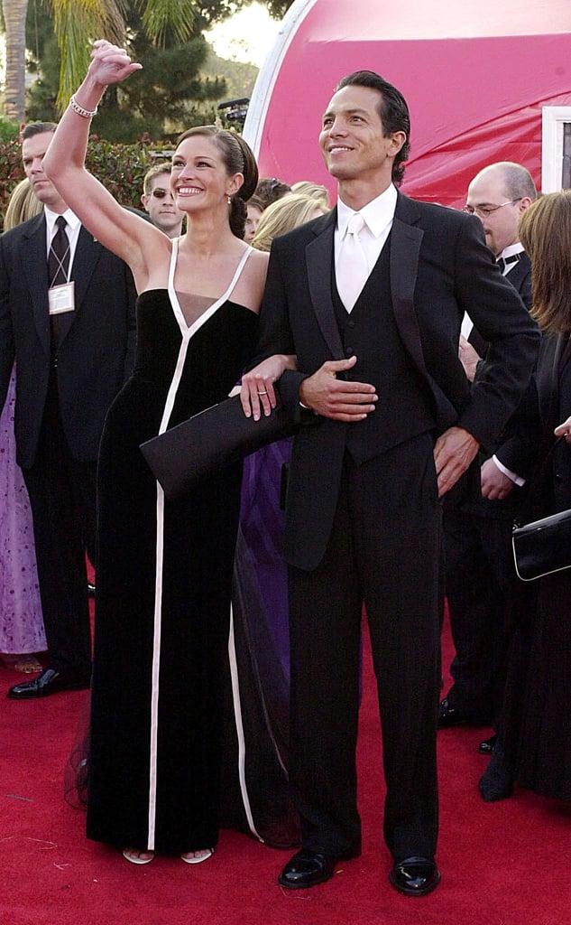 "Julia Roberts's Vintage Valentino ""Skunk Dress,"" 2001"