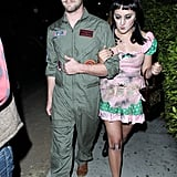 Zelda Williams and Jackson Heywood as a Doll and Maverick from Top Gun