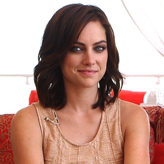 Jessica Stroup Ted and 90210 Interview (Video)