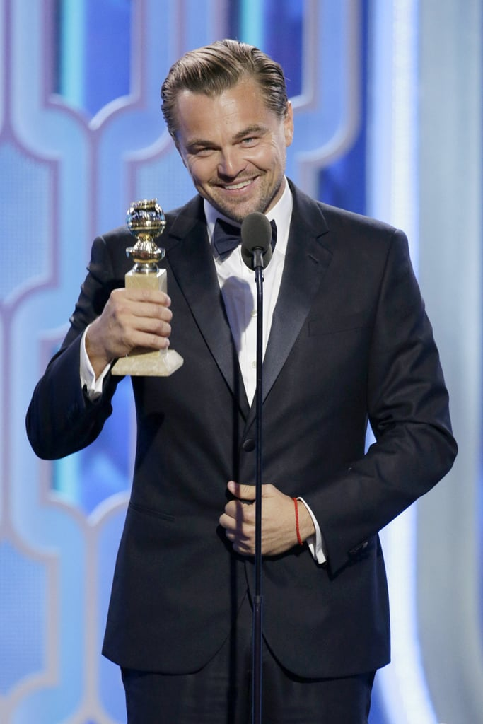 Leonardo DiCaprio Started His Award Season Off Right