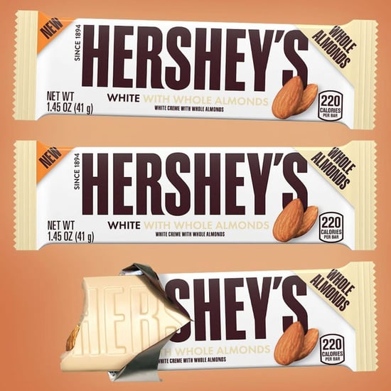 Hershey's White Creme Bars With Whole Almonds