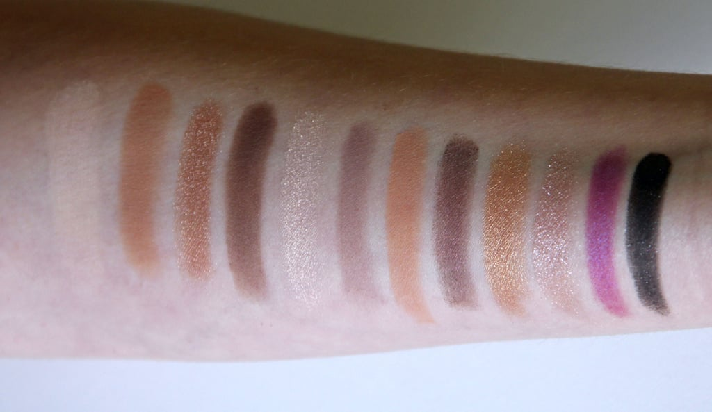 Too Faced Merry Macarons Palette Swatched on Light Skin