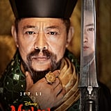 Jet Li as the Emperor