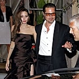 Brad Pitt and Angelina Jolie Take Their Red Carpet Glamour Out on the Town