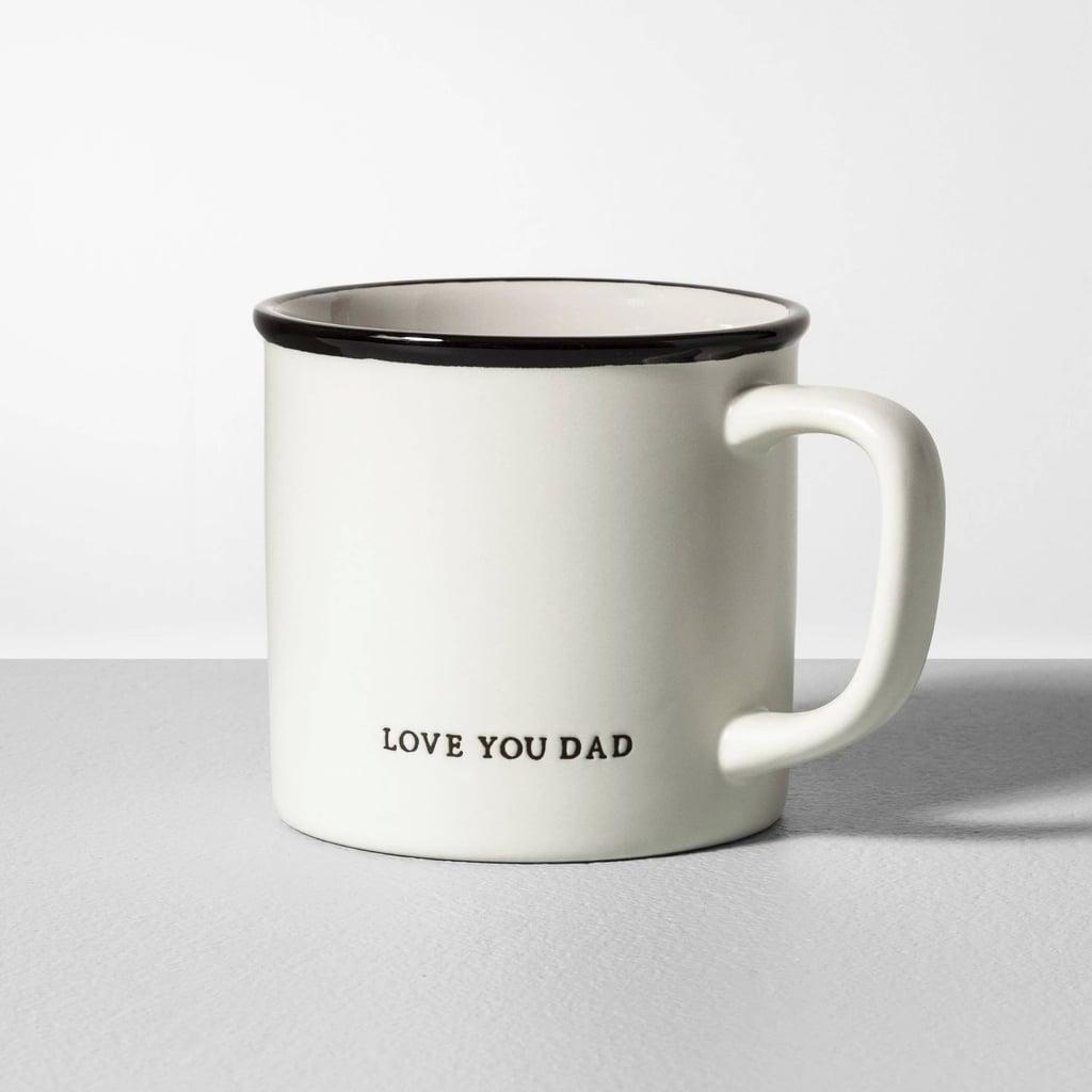Love You Dad Stoneware Mug