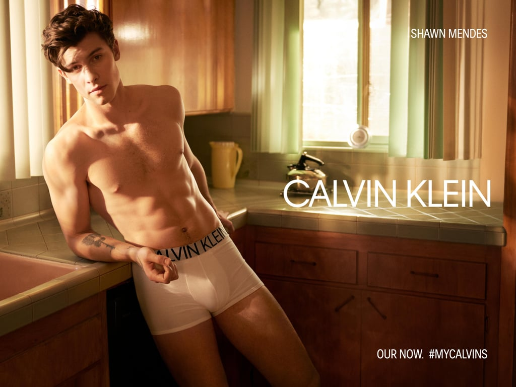 Shawn Mendes Calvin Klein Spring 2019 Campaign Pictures