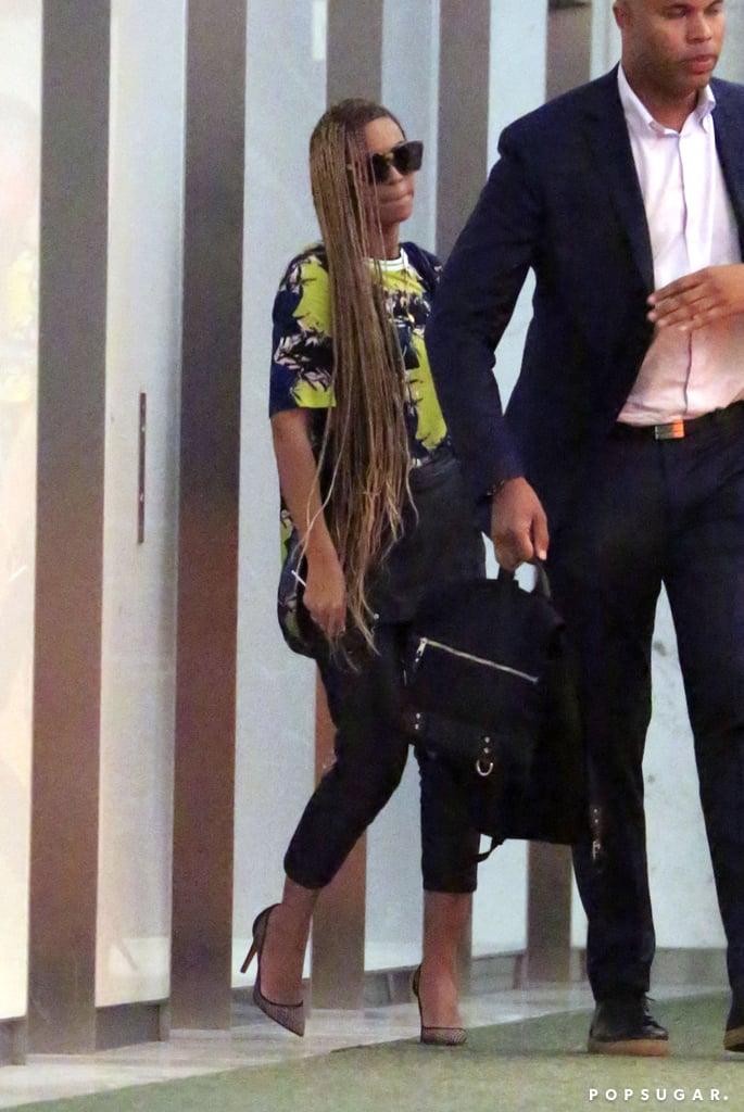 Beyoncé Debuts a Superlong New Hairstyle