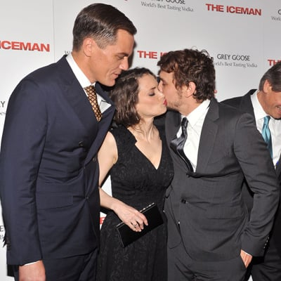 James Franco and Winona Ryder at The Iceman Screening in NYC