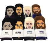 These Eerily Realistic Game of Thrones Socks Remind Us of Arya's Infamous Bag of Faces