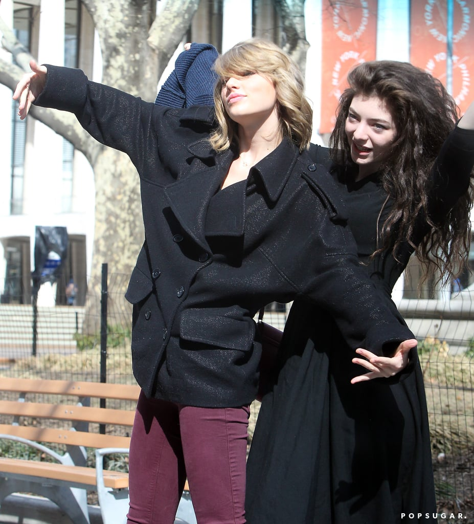 Taylor and Lorde Take a Bite of the Big Apple
