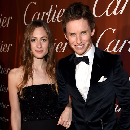 Eddie Redmayne and Hannah Bagshawe at Palm Springs Film Fest