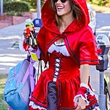 Ambrosio can make pretty much any character look sexy, including Little Red Riding Hood.