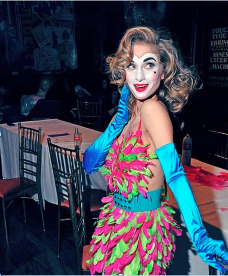 Patricia Field's Valentine's Day Look: Updated Harlequin