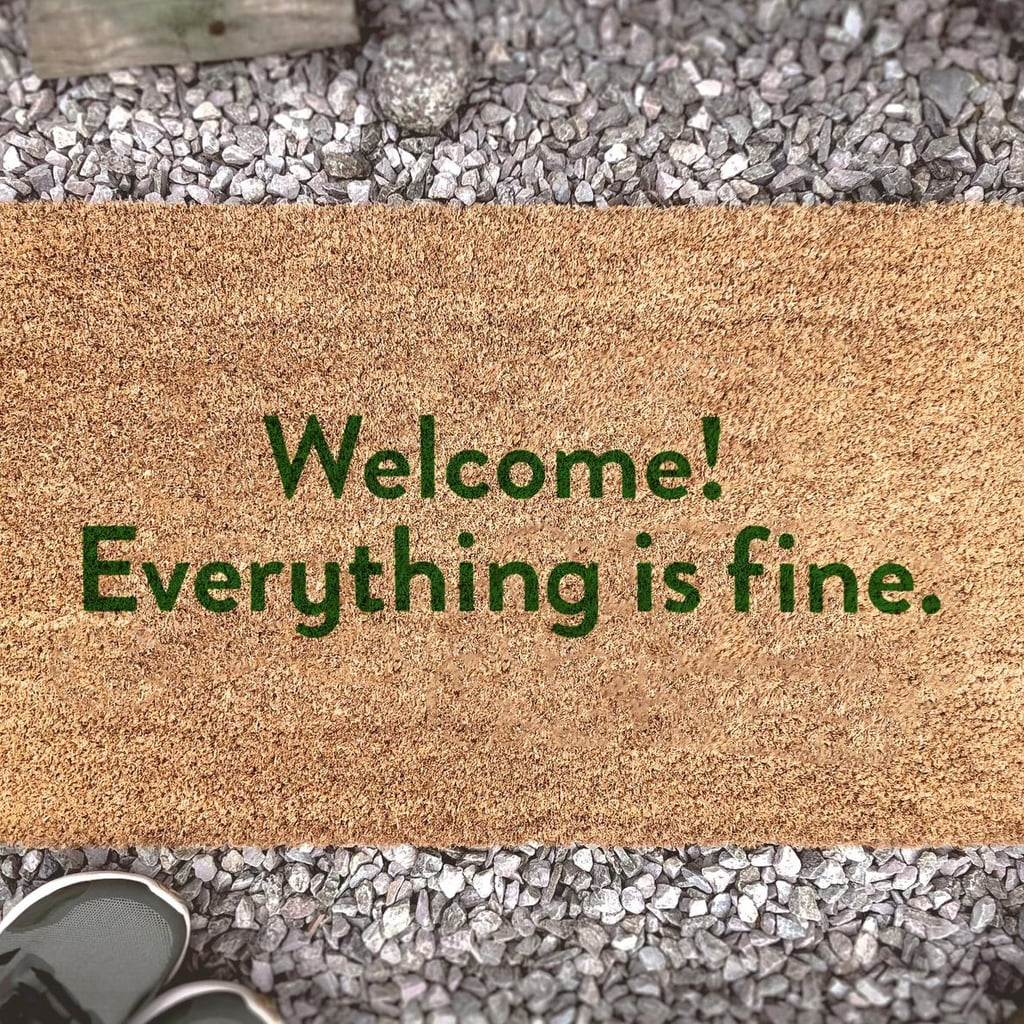 "The Good Place ""Everything Is Fine"" Doormat"