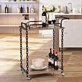 Giantex Two-Tier Chain Bar Cart