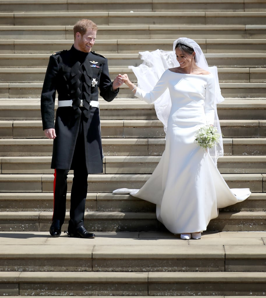 Prince Harry and Meghan Markle at Their Wedding in 2018