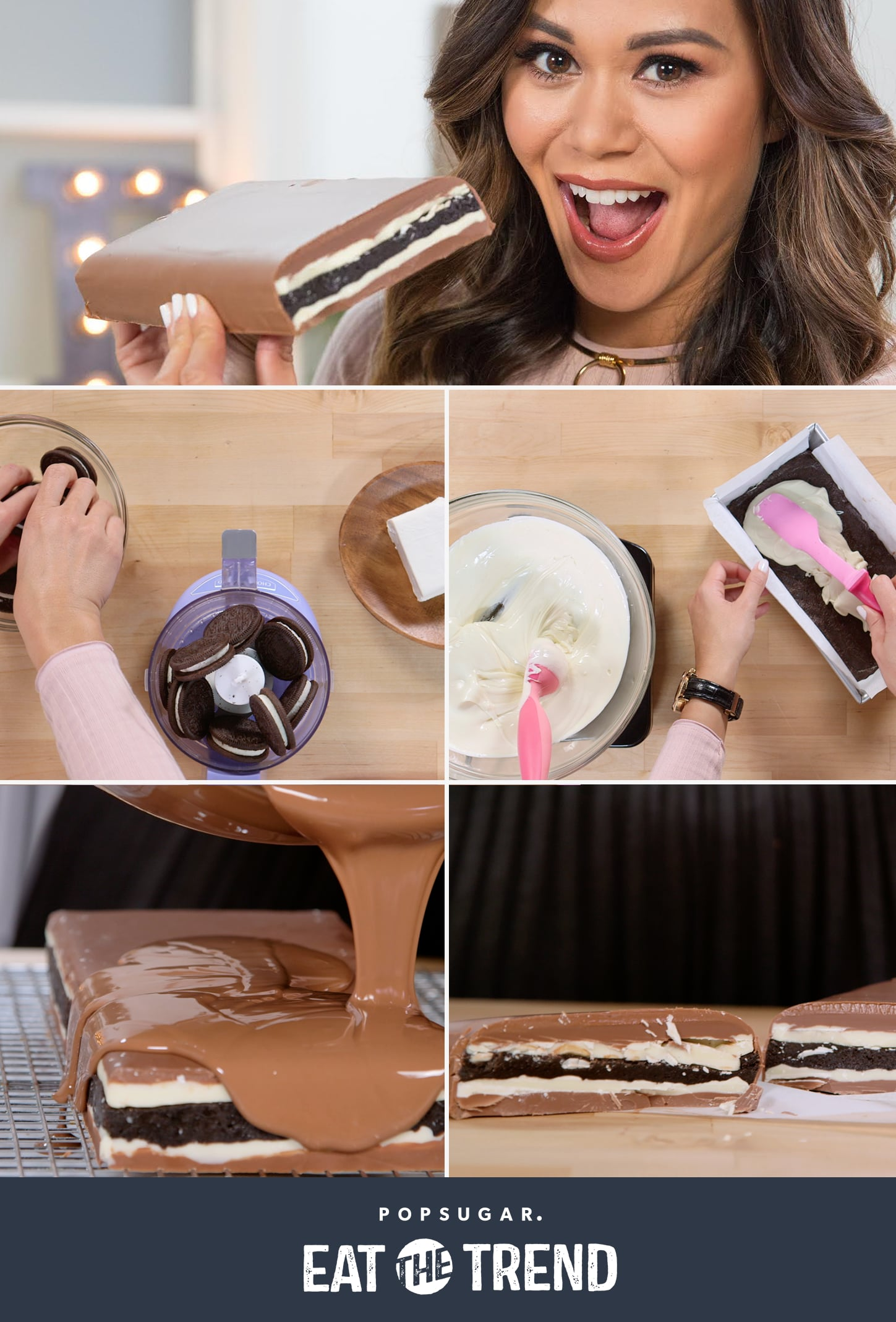 This Giant DIY Oreo Chocolate Bar Is the Stuff Dreams Are Made Of
