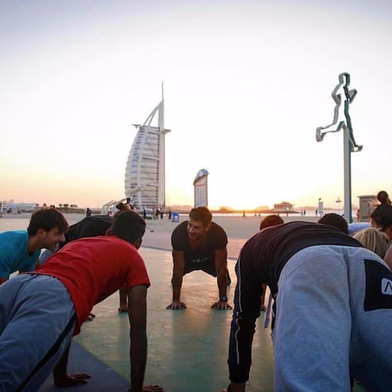 First Weekend of Dubai Fitness Challenge