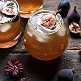 Fig Bourbon Cider Smash