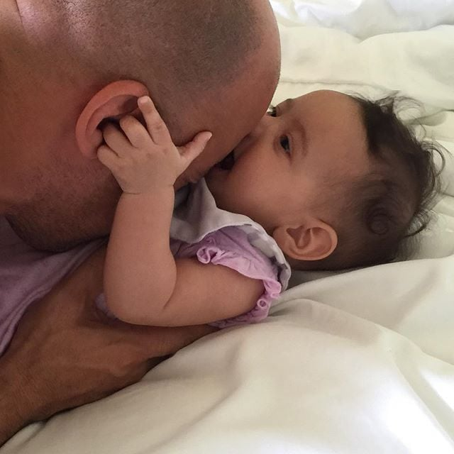 Vin Diesel and His 4-Month-Old Baby Girl Are Too Sweet For Words