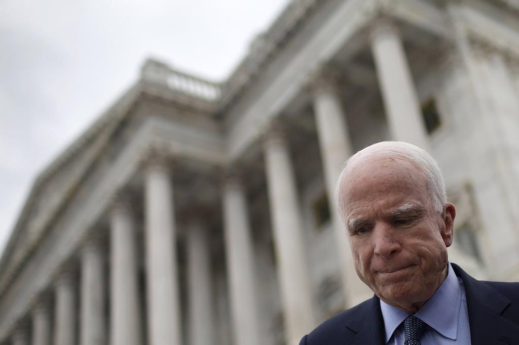 Politicians React to John McCain's Cancer Diagnosis