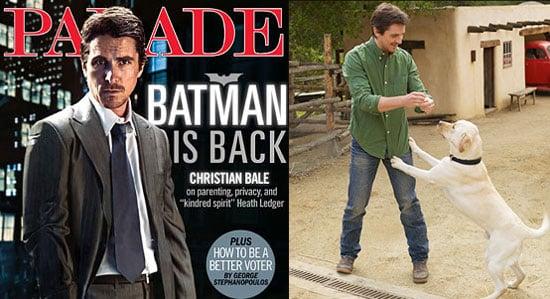 Christian Bale For Parade Magazine