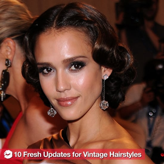 Updated Vintage Hairstyle Ideas