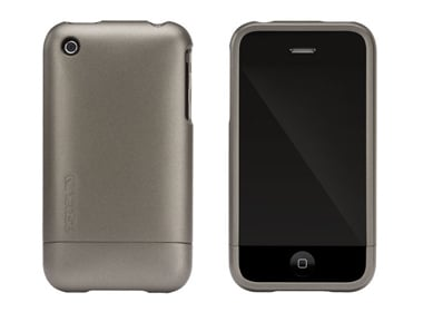 Metallic iPhone Slider Gunmetal ($35)