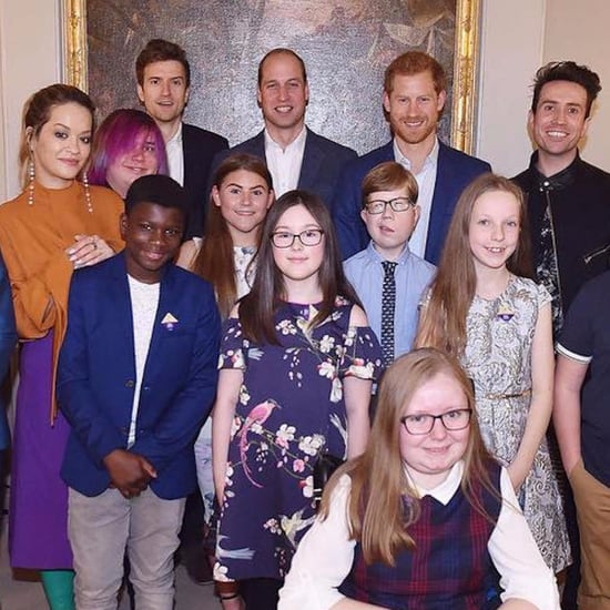 Prince Harry and William at BBC Radio 1 Teen Heroes Event