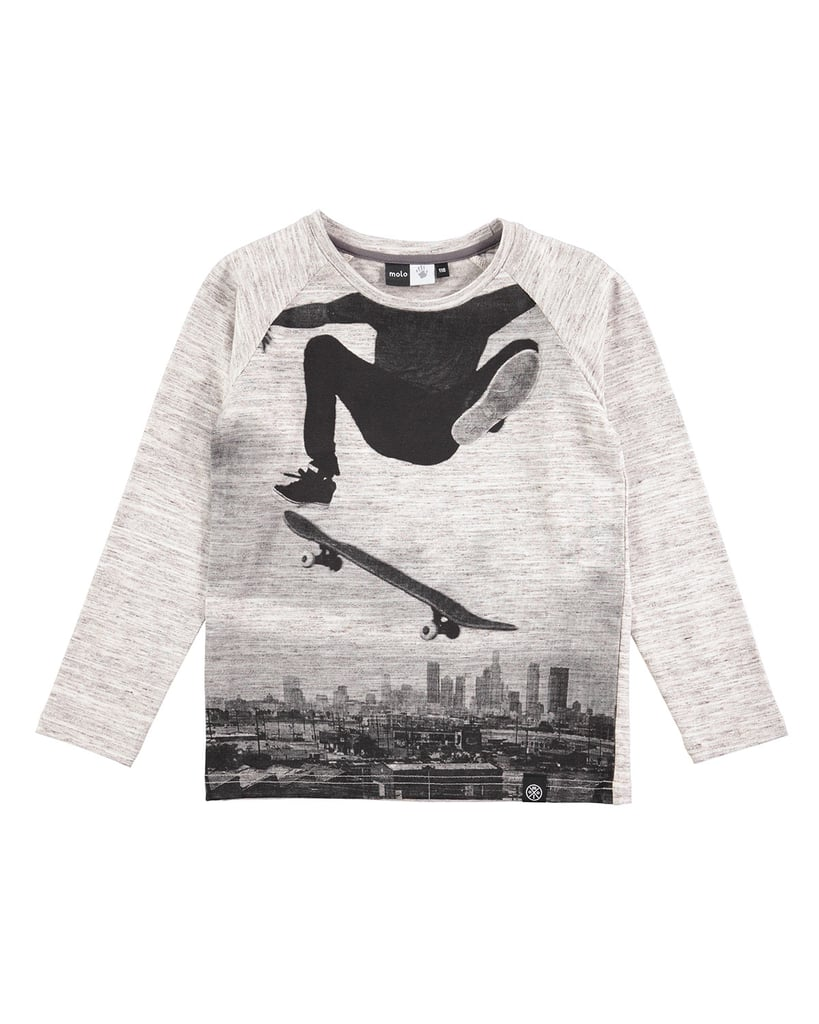 Molo Raldric Long-Sleeve Skateboarder T-Shirt