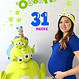 Disney-Themed Pregnancy Update Pictures