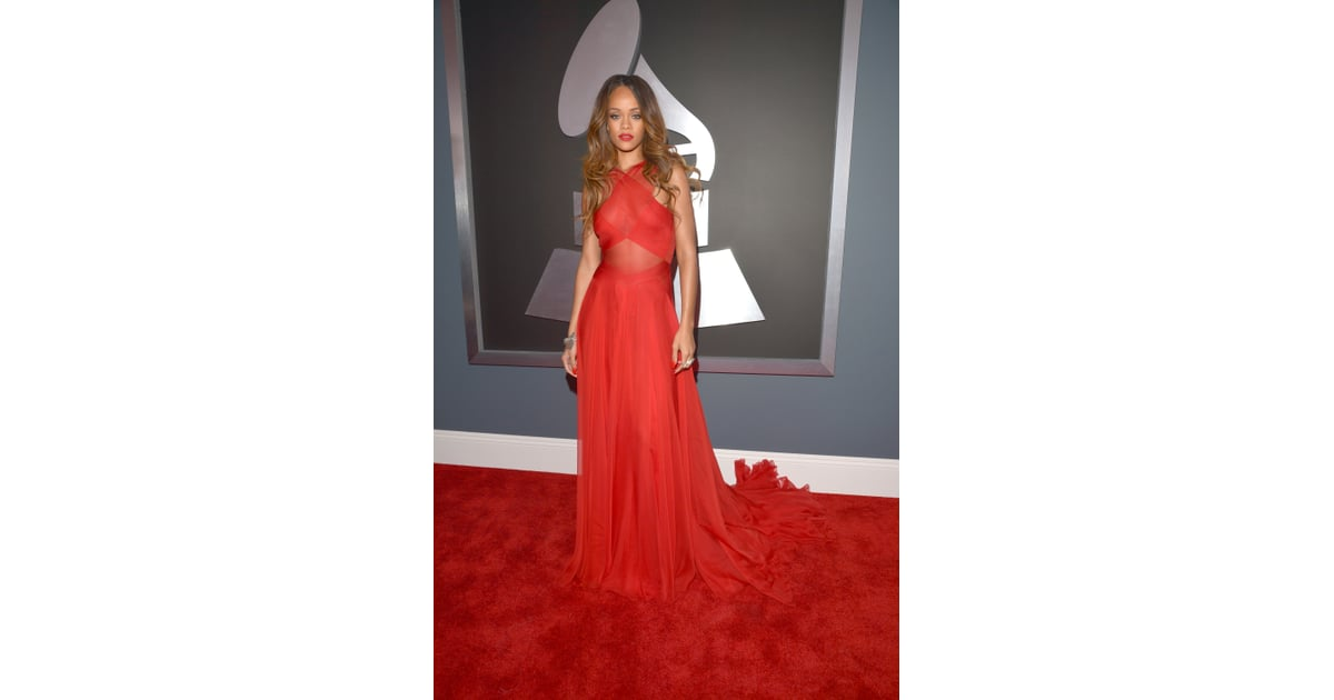 Grammys: Grammys 2013 Red-Carpet Dresses