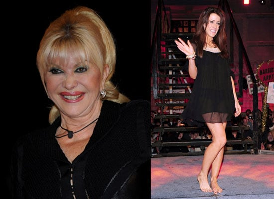 Photos of Ivana Trump and Nicola T Eviction From Celebrity Big Brother Watch Davina McCall Enter House