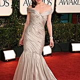 Milla Jovovich in Armani Prive