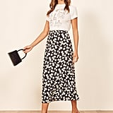 Reformation Bea Skirt in Daisy Chain