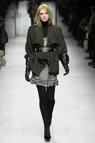 Milan Fashion Week, Fall 2007: Burberry Prorsum