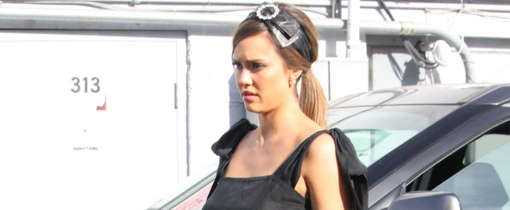 The Icing on Top of Jessica Alba's Baby Shower Cake Was Honestly Her Headband