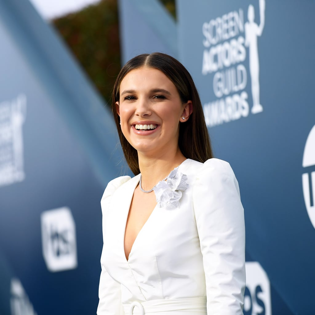 Millie Bobby Brown French Manicure at the SAG Awards 2020