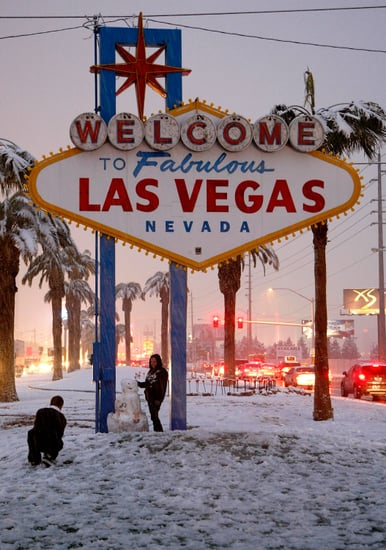 Front Page: Las Vegas Hits The Snow Jackpot