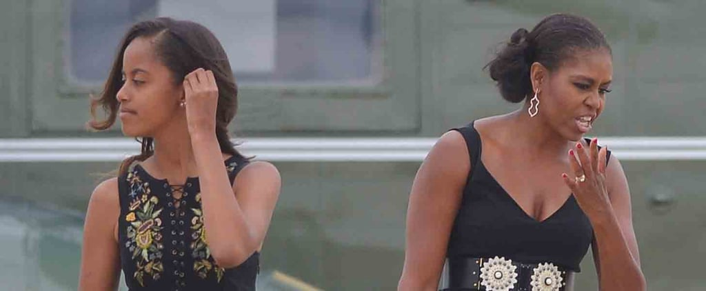 13 Times Malia Obama Dressed Just Like Her Mom