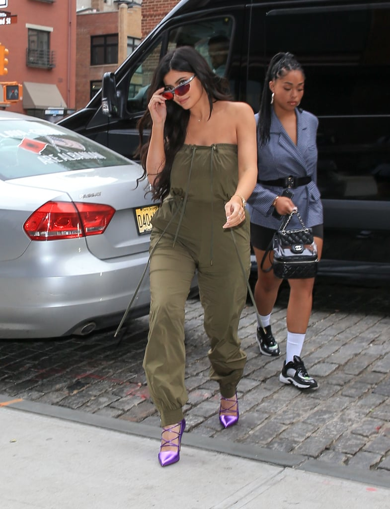 Kylie Jenner Green Jumpsuit