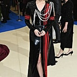 Riley Keough in Louis Vuitton as . . .