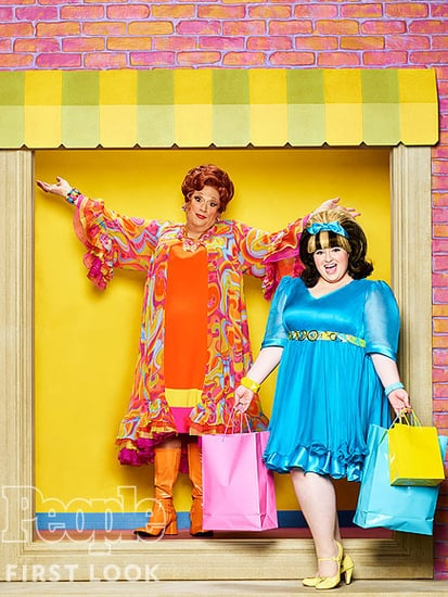 Big, Blonde and Beautiful! See Hairspray Live!'s Edna and Tracy Turnblad in Costume for the First Time