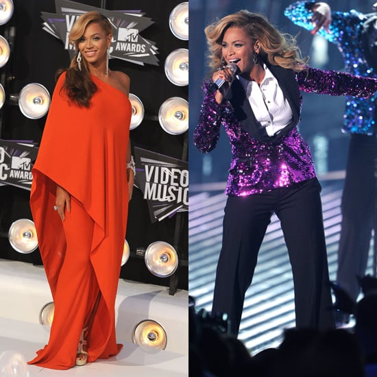 Pregnant Beyonce's Dress at VMAs 2011