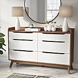 Cravens Six-Drawer Double Dresser