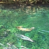 She Found the Perfect Bikini For High Shine in the Crystal-Clear Waters