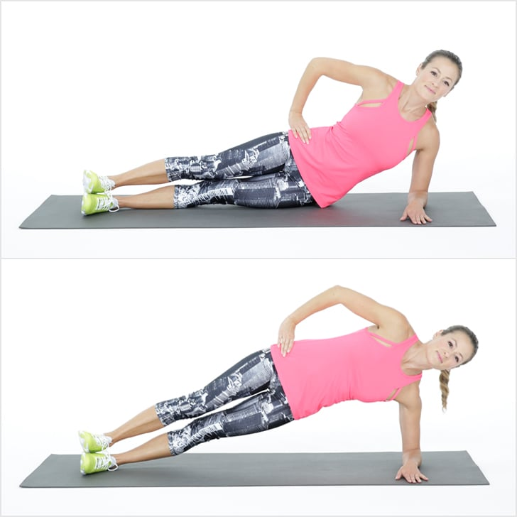 Side Elbow Plank With Leg Lift