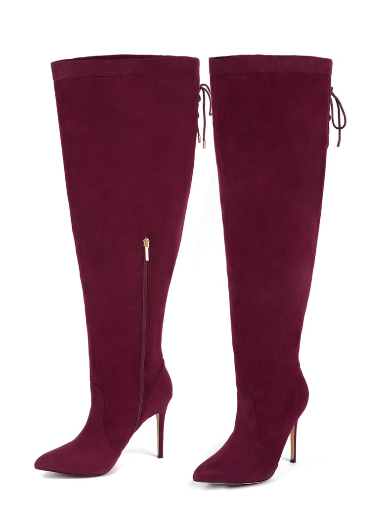 5361cd0f809 Eloquii Luella Over the Knee Boot ($150) | Eloquii Wide-Fit Shoe ...